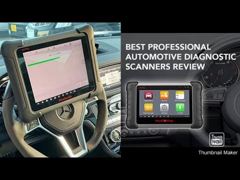 Full Review of the Autel maxicom mk808 diagnostic scanner