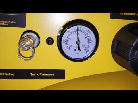 Dewalt 80 gallon compressor review