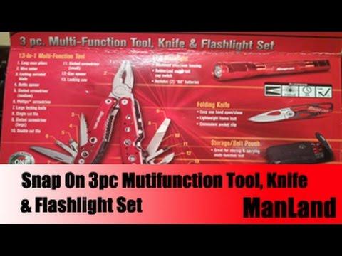 Manland - Snap On 3pc Multifunction Tool Set