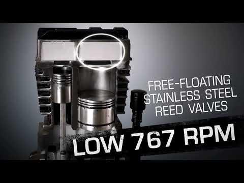 Industrial Air 60 Gallon Air Compressor