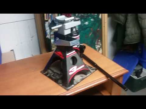 Powerbuillt all in one 3 ton jack and jackstand combo