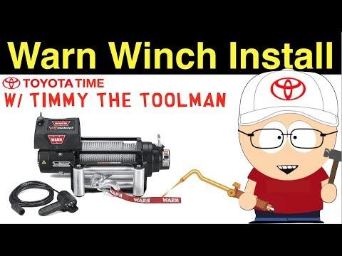 Warn Winch M8000 Install on CBI Hybrid Bumper
