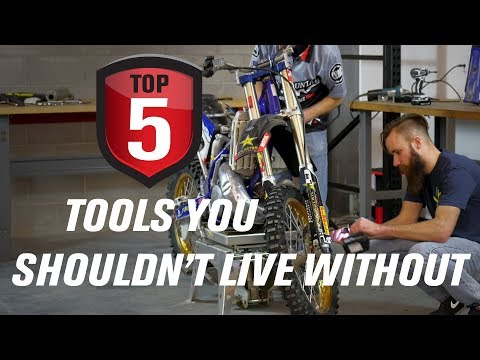 Top 5 Dirt Bike Tools You Shouldn't Live Without