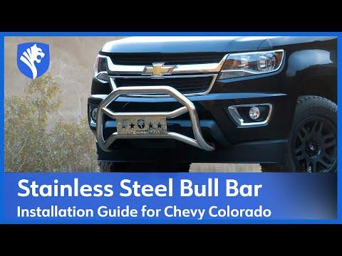 TYGER GUARD installation on 2015 Chevy Colorado