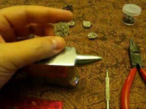 Steampunk rings tutorial by Jen Hilton of JLHjewelry.com