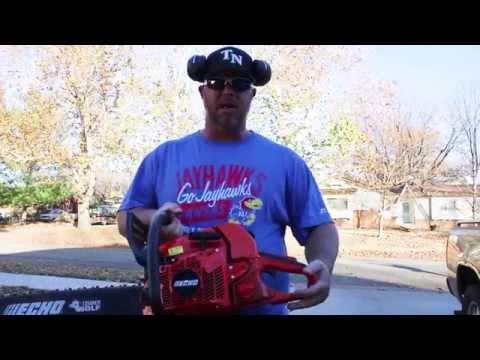 ECHO CS 590 CHAINSAW ► Lawn Care Vlog #83