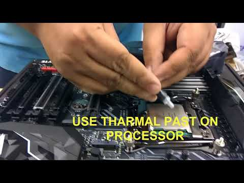 Cooler Master MasterAir Maker 8 | Installation | core i9 7900x GIGABYTE X299 GAMING 3 | Tech Land