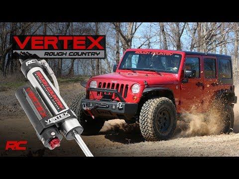 Vertex 8-Stage Adjustable Reservoir Shocks by Rough Country