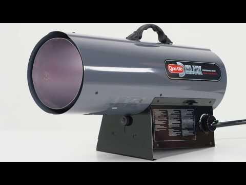 Dyna-Glo Delux 125K BTU LP Forced Air Heater RMC-FA125DGD