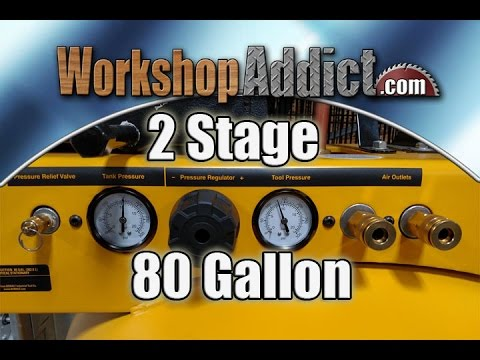 DeWalt 80 Gallon 2 Stage Air Compressor Review DXCMV5048055