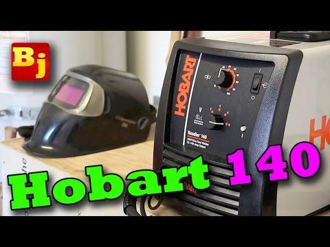 Hobart Handler 140 Review & Welding