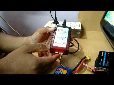 Charging Lipo Battery Using B3 Balance Charger