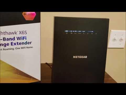 Netgear X6S wireless extender