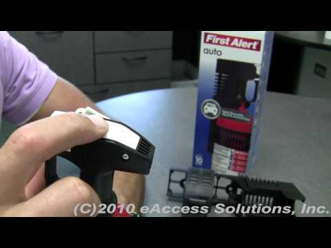 First Alert Auto Fire Extinguisher UL Rated Video Overview