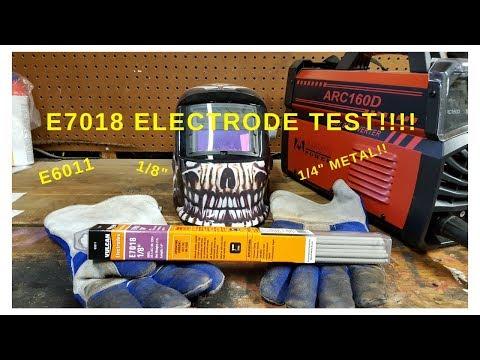 """Amico Power ARC160DC Using E7018 1/8"""" Electrode"""