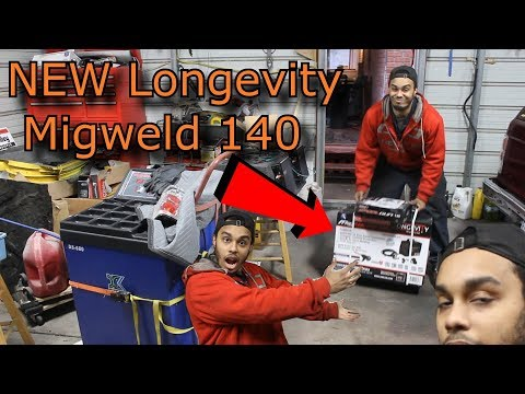 HOT NEW Longevity Migweld 140 REView