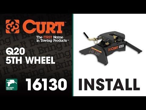 5th Wheel Hitch Install: CURT 16130 Q20 5th Wheel Hitch