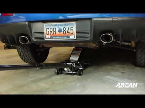 Arcan Ultra Low-Lift Garage Jack - 2-Ton Capacity, Model# XL2T