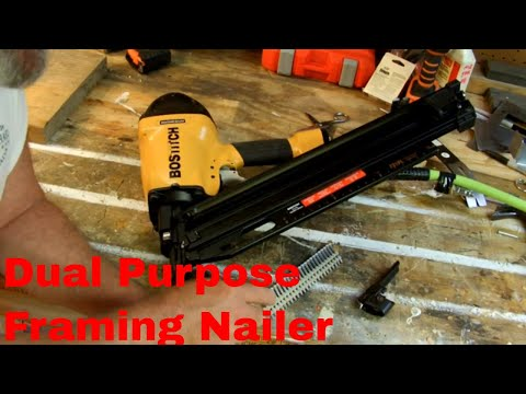 Bostitch F21PL Dual Purpose Nailer