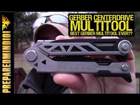 Gerber Centerdrive Multi-Tool: Hell Yeah! - Preparedmind101