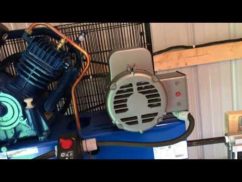 Quincy QT-54 Air Compressor Set Up And Review
