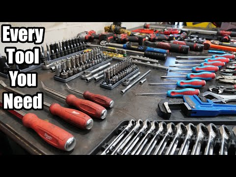 Every Single Tool You Need To Start Working On Cars! *Full List*