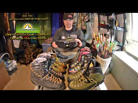 Jake's Gear Room Episode1: LaSportiva Boot Review