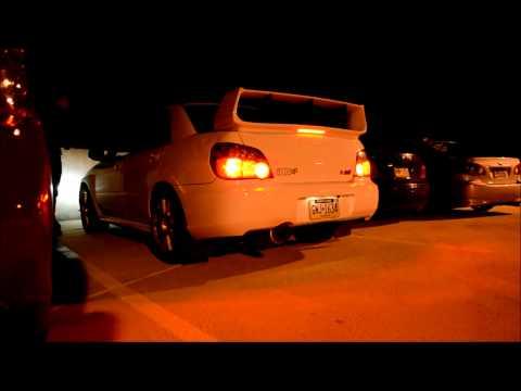 Subaru STI with HKS BOV