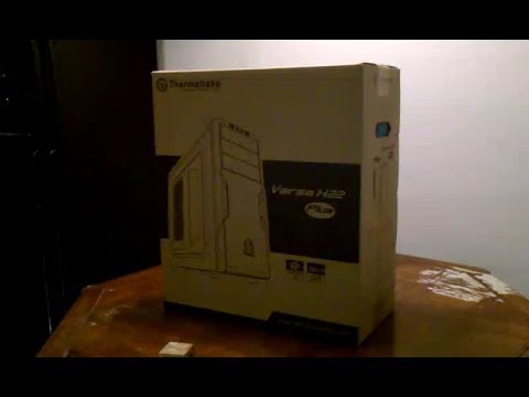 Thermaltake Versa H22 Special Edition Unboxing, Dimensions, and Initial Review