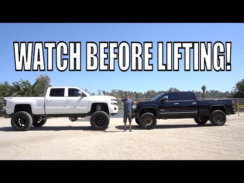 CHOOSE THE PERFECT LIFT KIT FOR YOUR TRUCK