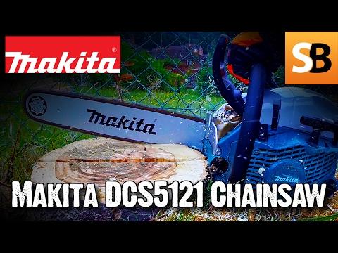 "Makita DCS5121 18"" 50cc Petrol Chainsaw Review"