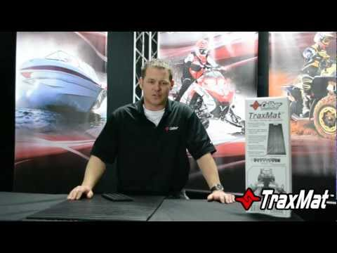 Snowmobile Trailer Traction - TraxMat by Caliber