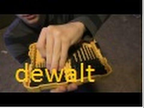 DeWalt drill bit review