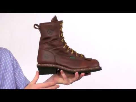 Georgia Steel Toe Waterproof Logger Boot Style# - G7313