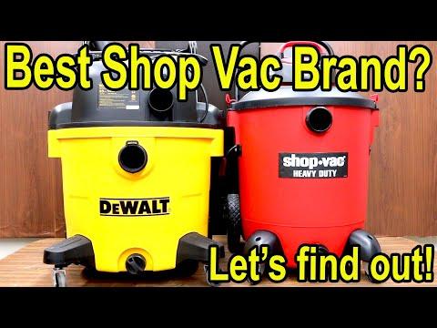 Which Shop Vac is Best? Let's find out! Ridgid vs Shop Vac, DeWalt, Stanley, Hart, Craftsman