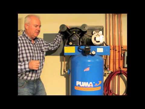 PUMA PK6060V 3 HP 60 Gal Air Compressor from AirCompressorsDirect.com