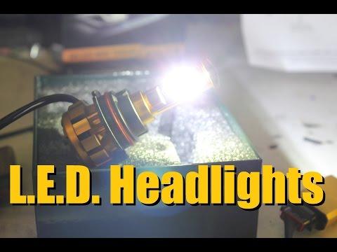 AUXBEAM L.E.D. Headlight Replacement bulb   AnthonyJ350