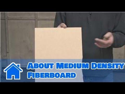 Home Improvement Projects & Tools : About Medium Density Fiberboard