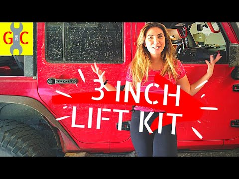 Most Affordable 3 INCH Lift Kit for Jeep Wrangler DIY INSTALL and review   MotoFab Lift