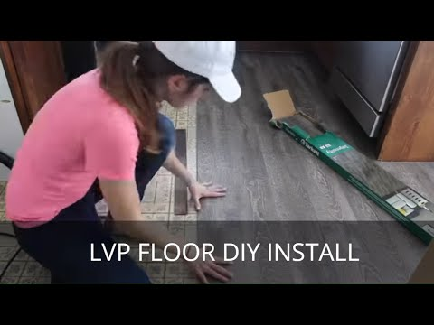 Waterproof Vinyl Plank (LVP) Flooring Installation