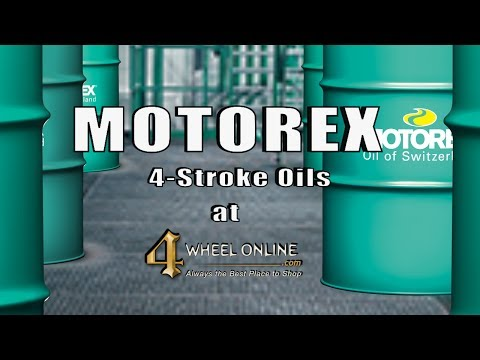 MOTOREX Power Synt and Cross Power 4 Stroke Oils