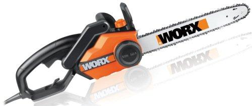 WORX WG303.1 16-Inch Chain Saw, 3.5 HP 14.5 Amp - Price: $94.08