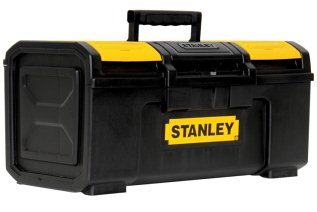 Stanley STST19410 One-Latch Toolbox, 19-Inch, Black  -- Price: $16.77