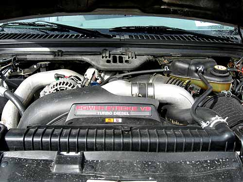 ford f550 6.0 oil capacity